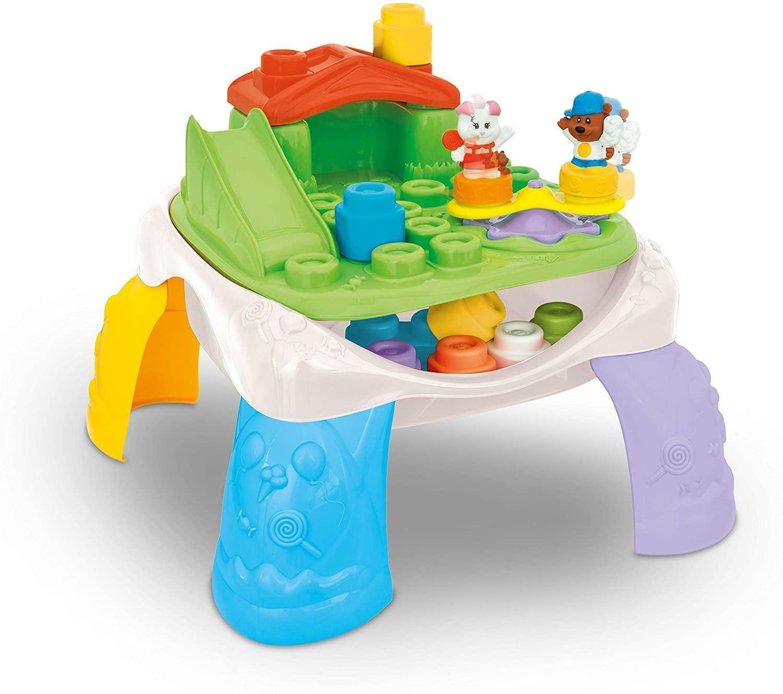 clementoni soft clemmy - tavolo parco giochi 14829