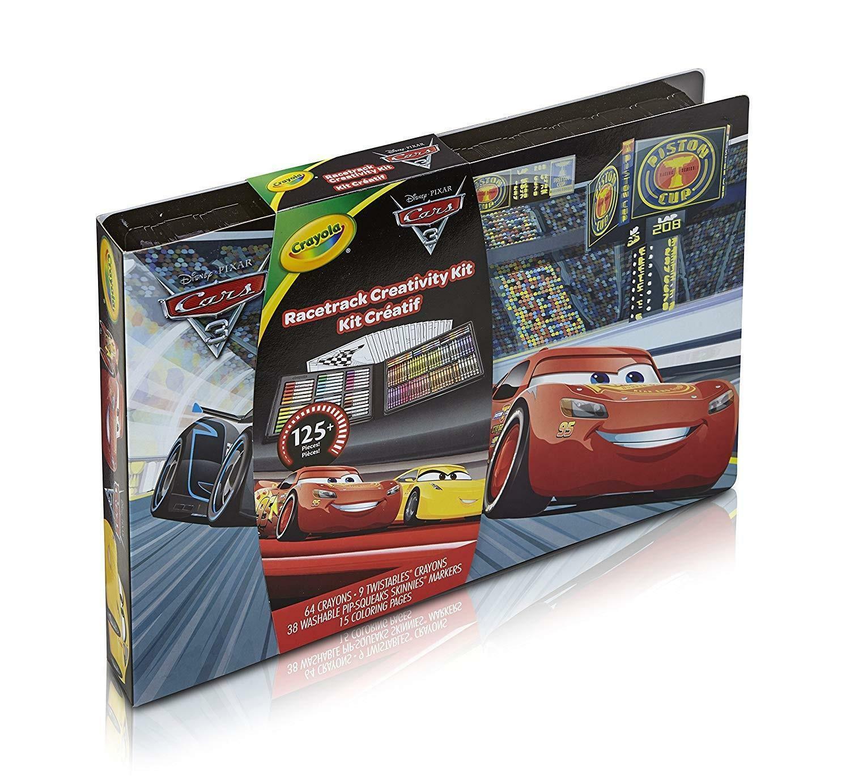 crayola valigetta dell'artista disney cars 3