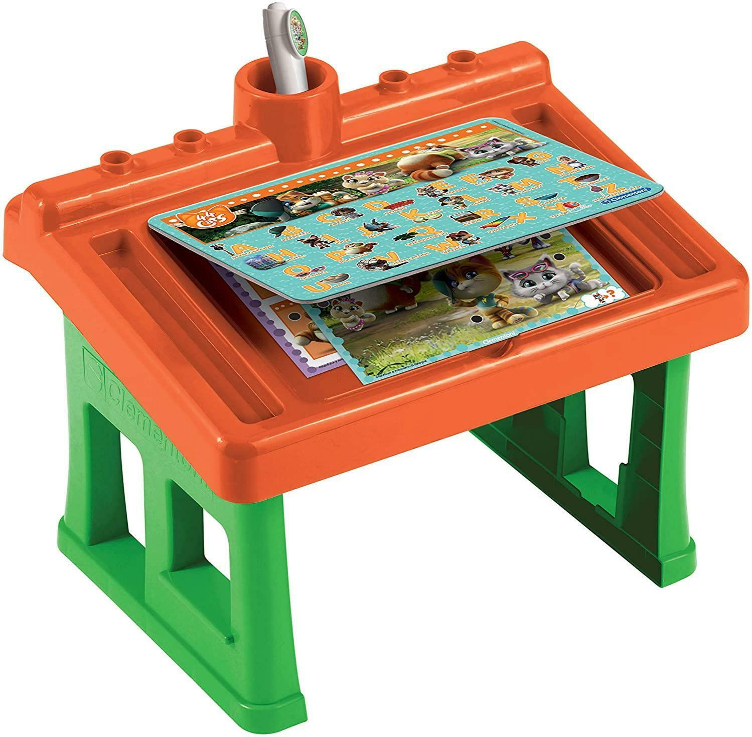 clementoni tavolino piu - 44 gatti 16194