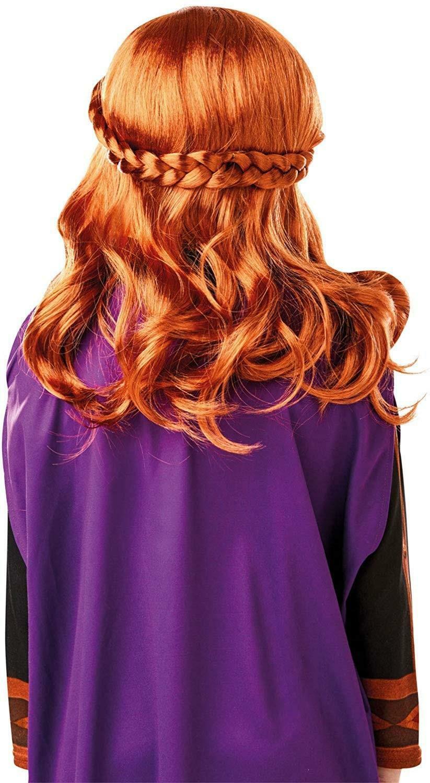 rubies rubies parrucca anna frozen 2