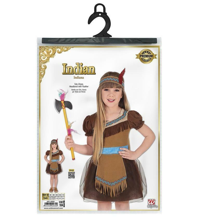 widmann widmann costume indiana 3 anni 104 cm