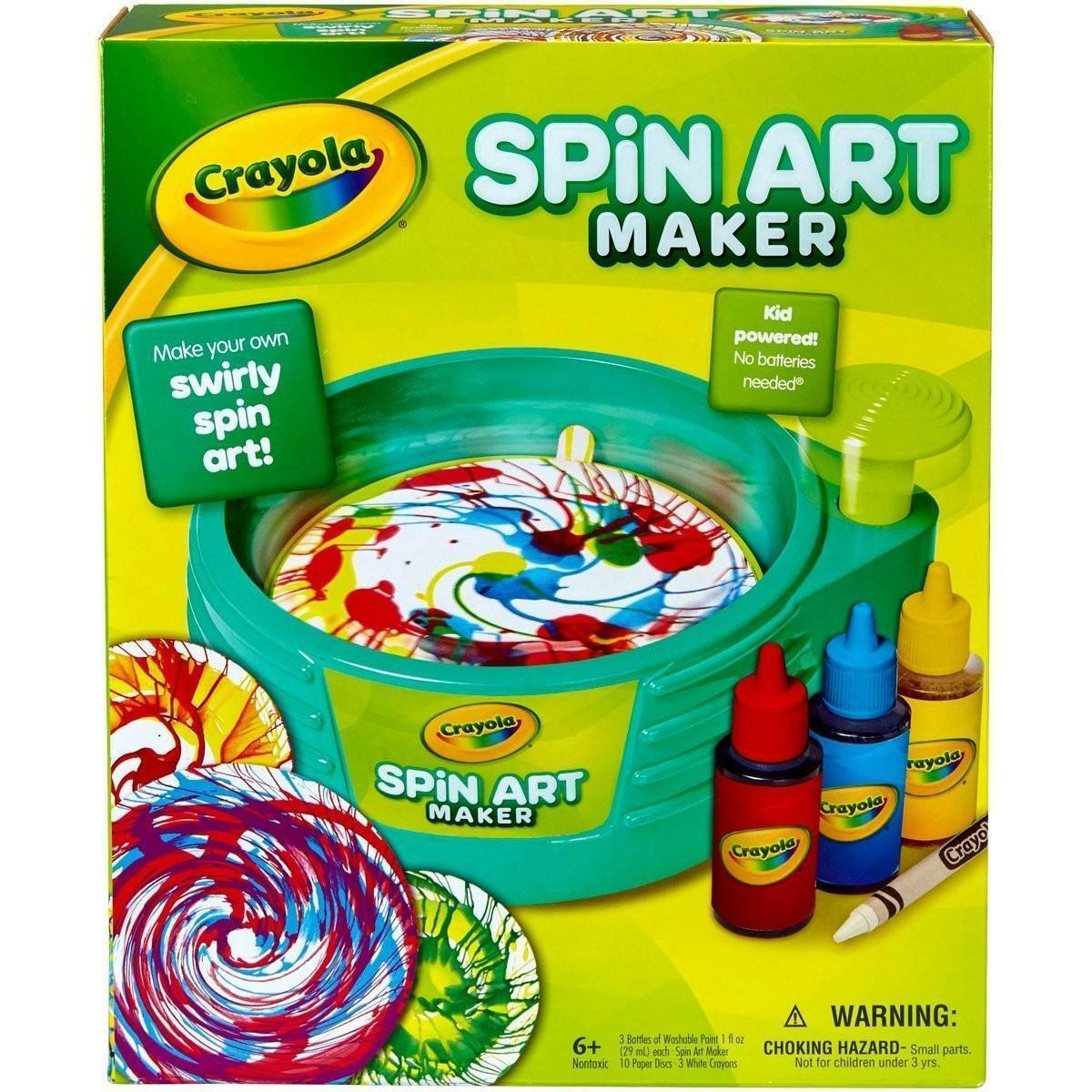 crayola vortice di colori