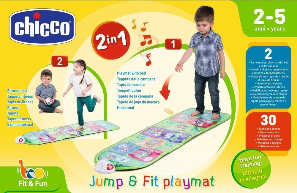 chicco chicco tappeto musicale jump&fit