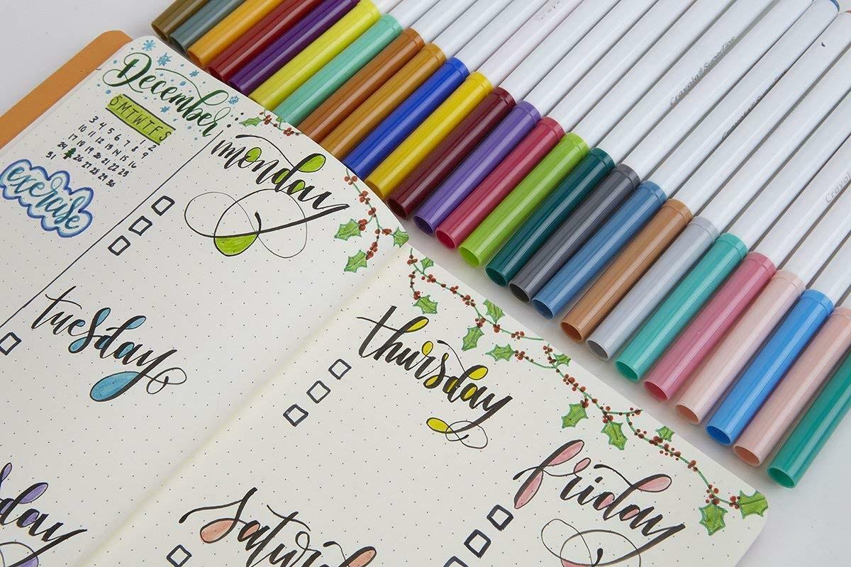 crayola 24 pennarelli lavabili superpunta