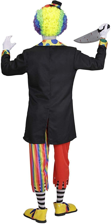 widmann widmann costume clown horror taglia l