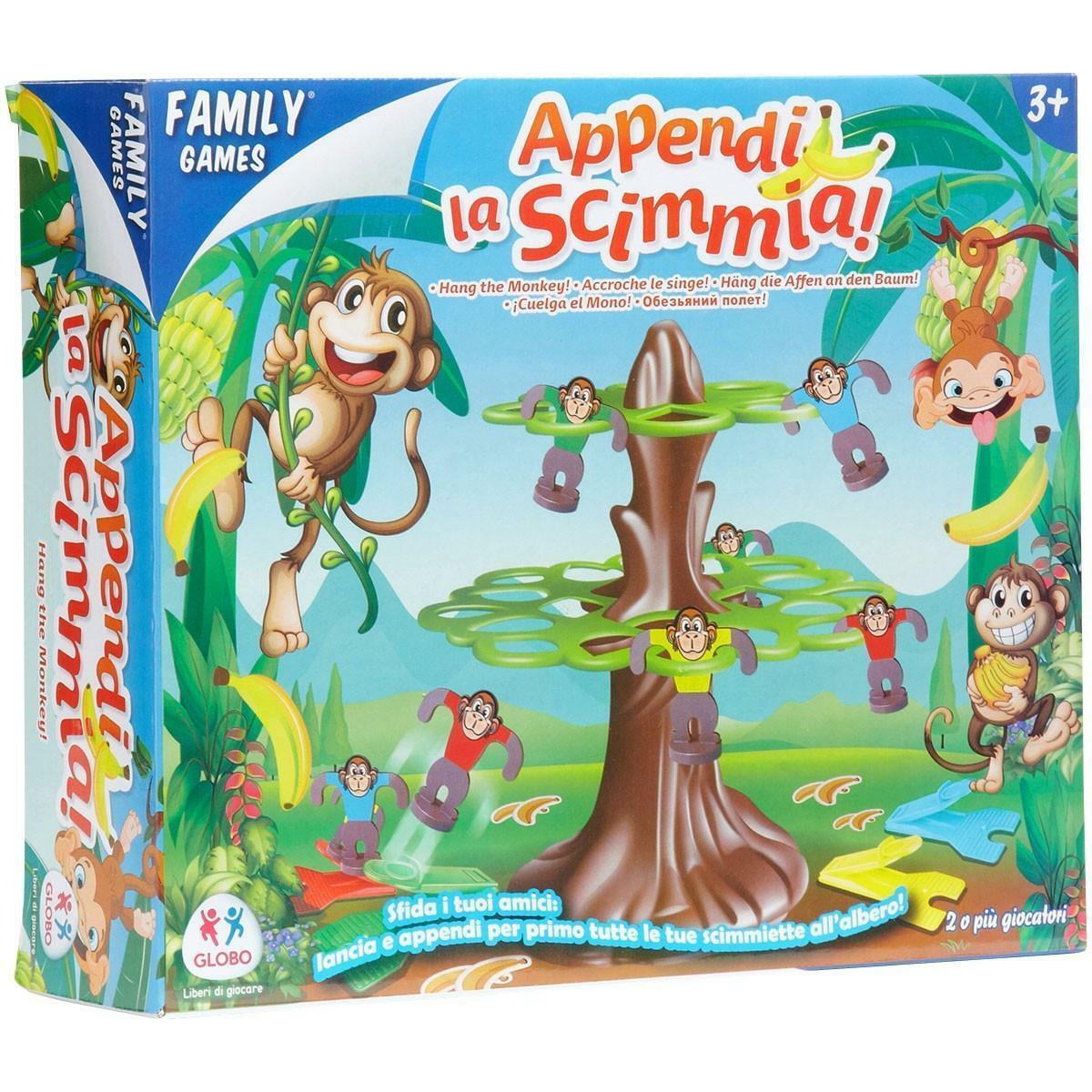 globo globo family games - appendi la scimmia