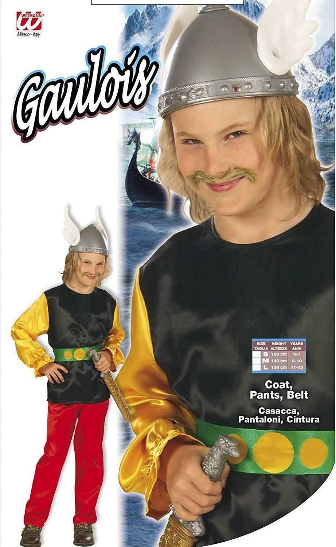 widmann widmann costume gallico taglia 8/10 anni