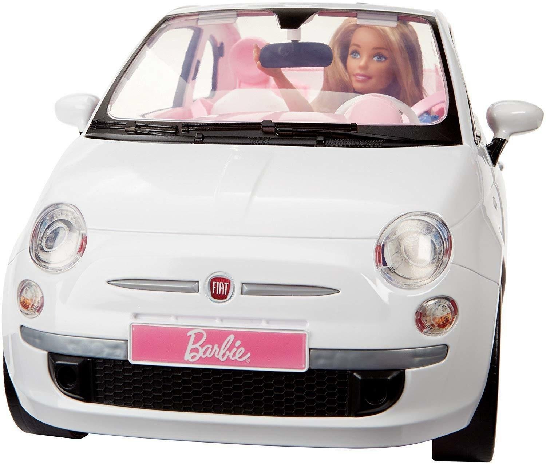 mattel mattel barbie - fiat 500