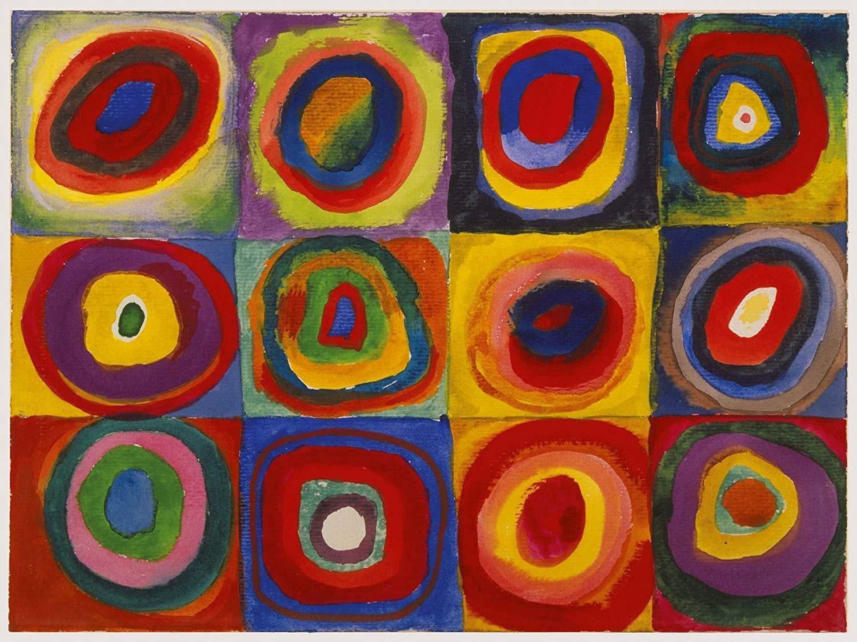 ravensburger ravensburger puzzle 1500 pz - studio sul colore (kandinsky)
