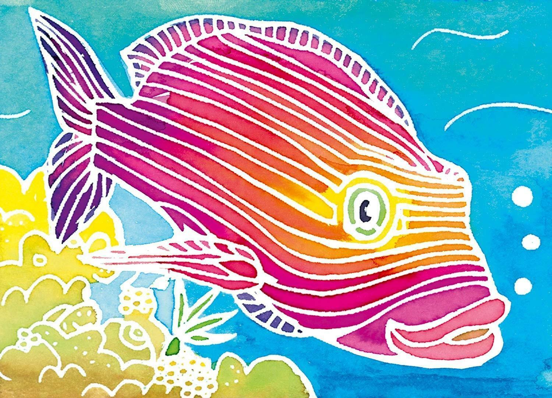ravensburger ravensburger aquarelle - pesce