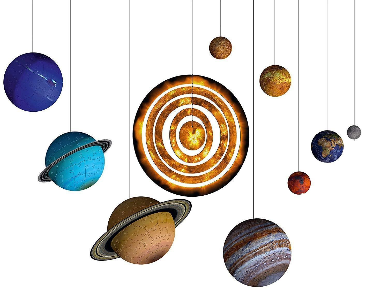 ravensburger ravensburger 3d puzzle 522 pz - il sistema planetario