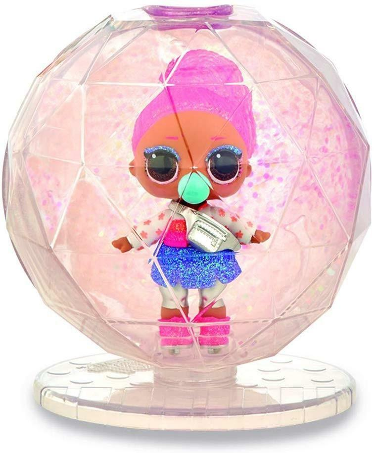 giochi preziosi lol surprise! glitter globe winter disco