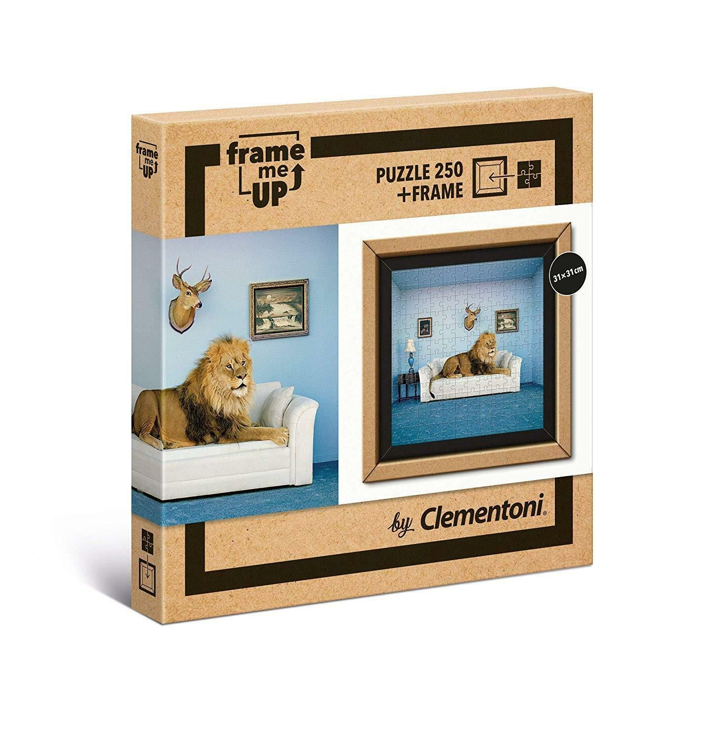 clementoni frame me up - puzzle 250 pz - master of the house