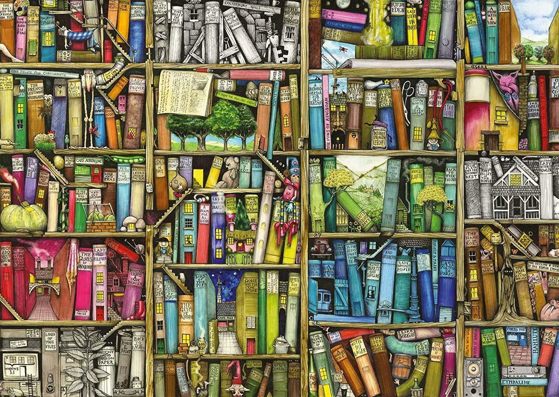 ravensburger ravensburger puzzle 1000 pz - la libreria bizzarra