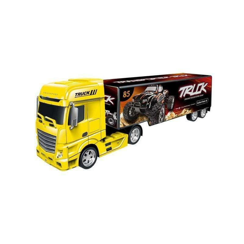 giocheria grande camion con rimorchio scala 1/24