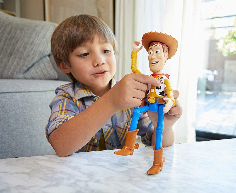 mattel mattel toy story 4 - woody parlante 18 cm