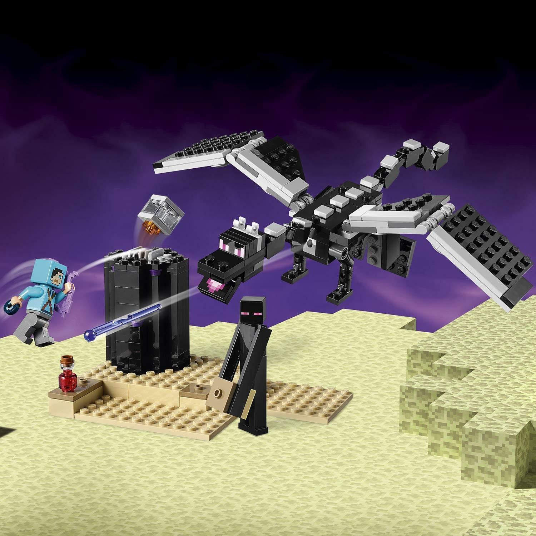 lego lego minecraft 21151 - la battaglia dell end