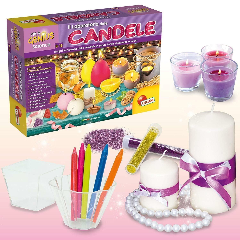 lisciani lisciani laboratorio delle candele 68647
