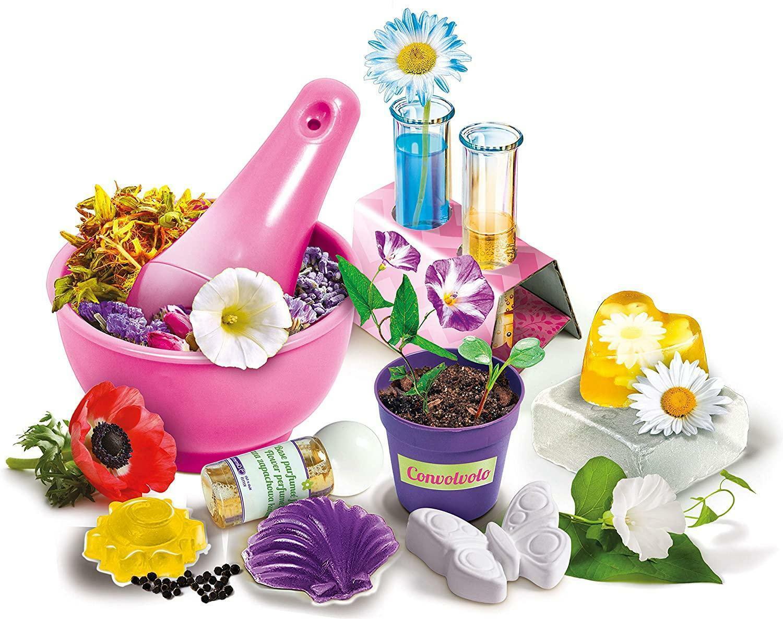 clementoni scienza & gioco - laboratorio di fiori ed essenze 13990
