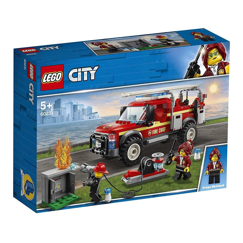 lego lego city 60231 - fuoristrada dei vigili del fuoco