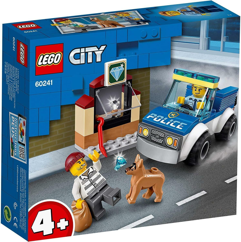 lego lego city 60241 - unitr cinofila della polizia