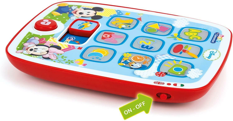 clementoni il primo tablet di baby mickey 14912