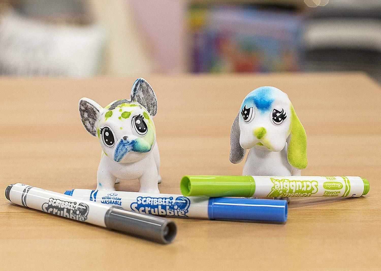 crayola crayola washimals set ricarica cagnolini