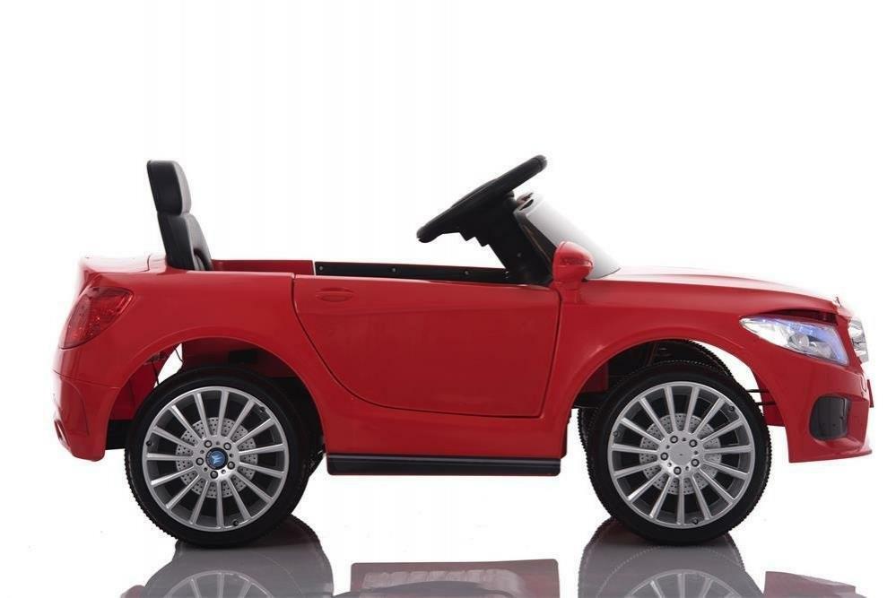 baby car auto elettrica 12 v - xmx 815 rossa con telecomando