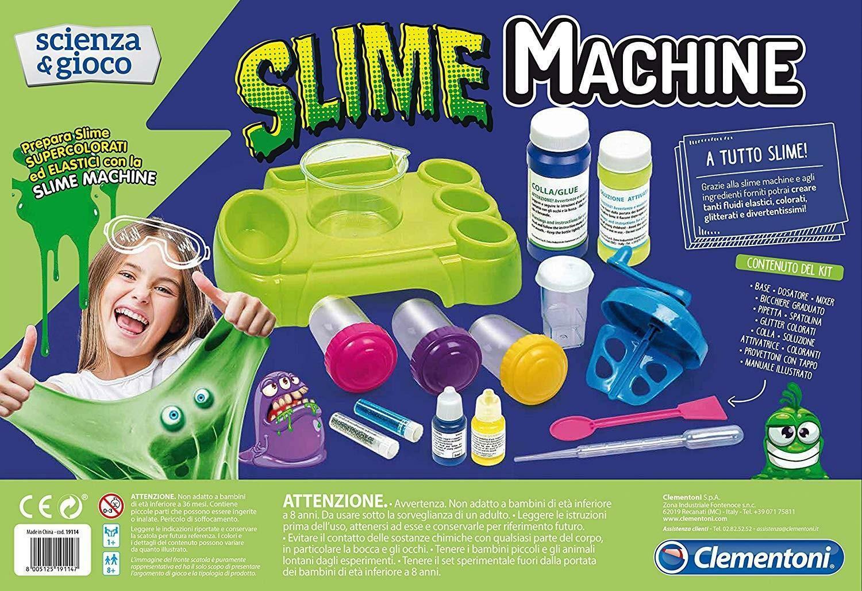 clementoni scienza e gioco 19114 - slime machine
