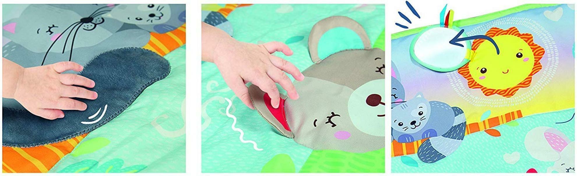 clementoni hug me play mat - tappeto sensoriale 17283