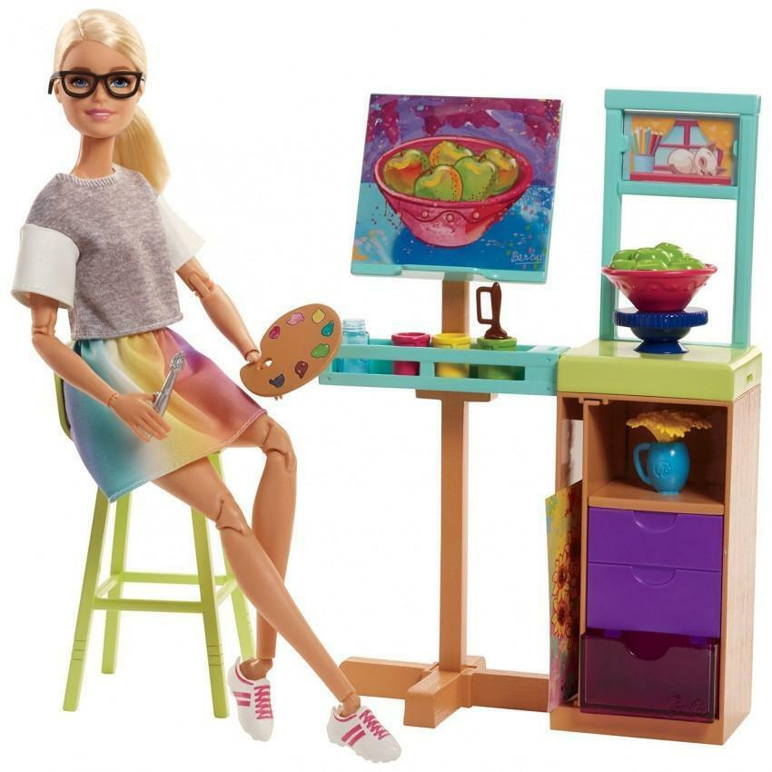 mattel mattel barbie mobili professioni