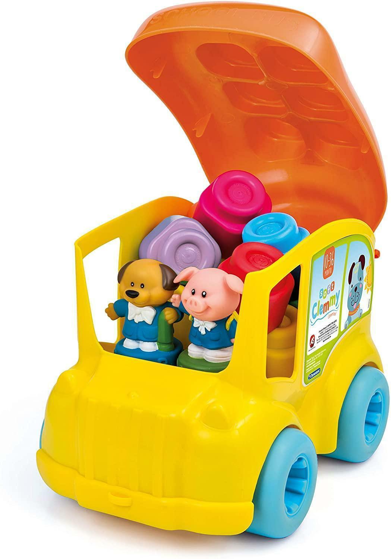 clementoni secchiello scuola bus 14783