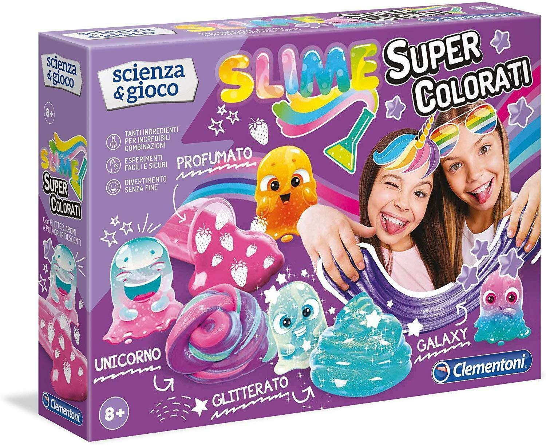 clementoni clementoni scienza e gioco - slime super colorati