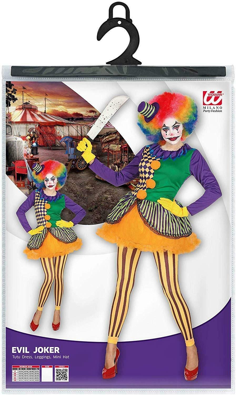 widmann widmann costume evil joker taglia m