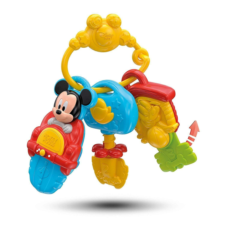 clementoni mickey mouse baby chiavi elettroniche 14832