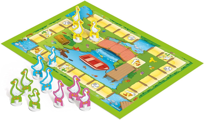 clementoni 2 in 1 gioco delloca e gioco lepre e tartaruga 16065