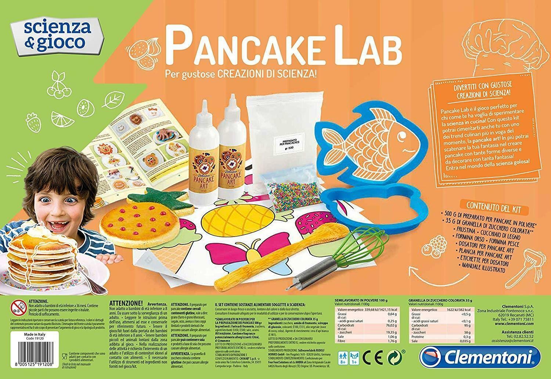 clementoni scienza e gioco 19120 - pancake lab