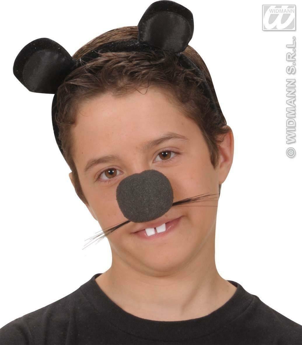 widmann widmann cerchietto con orecchie topo