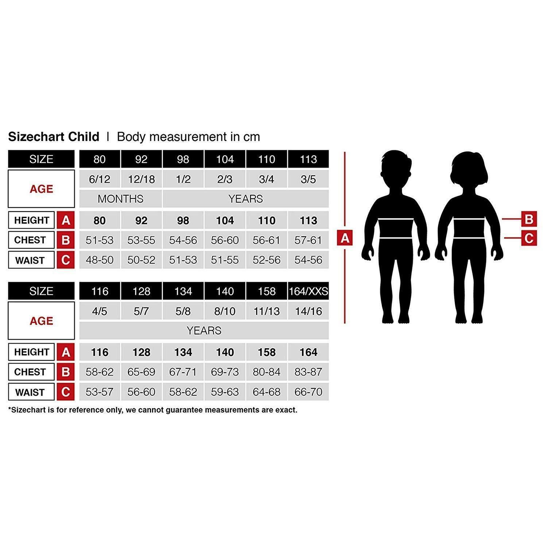 widmann widmann costume power ninja 5/7 anni 128 cm