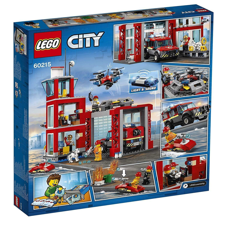 lego lego city 60215 - caserma dei pompieri