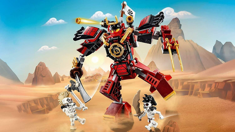 lego lego ninjago 70665 - the samurai mech
