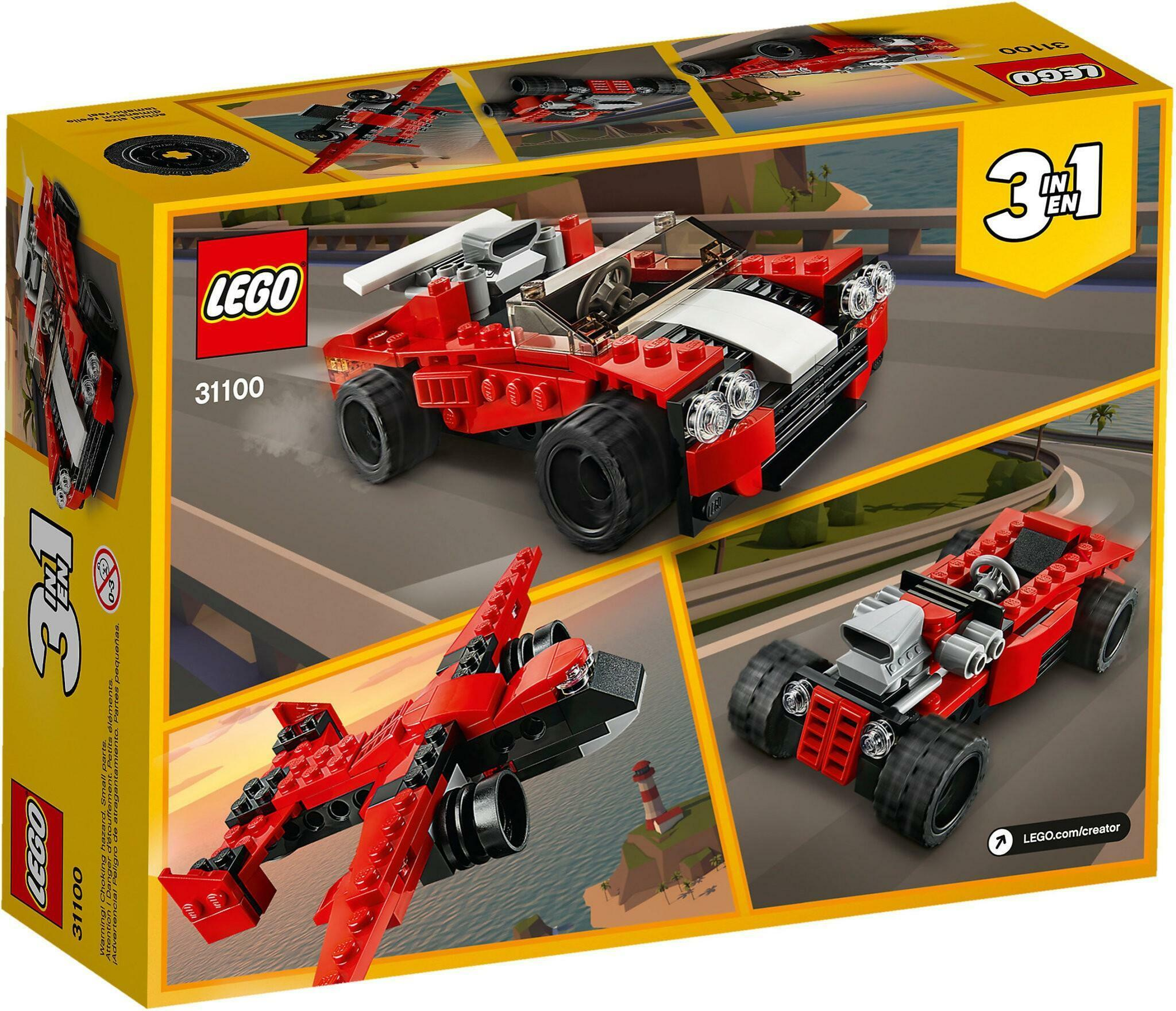 lego lego creator 31100 - auto sportiva