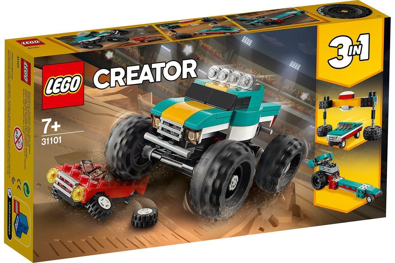 lego lego creator 31101 - monster truck