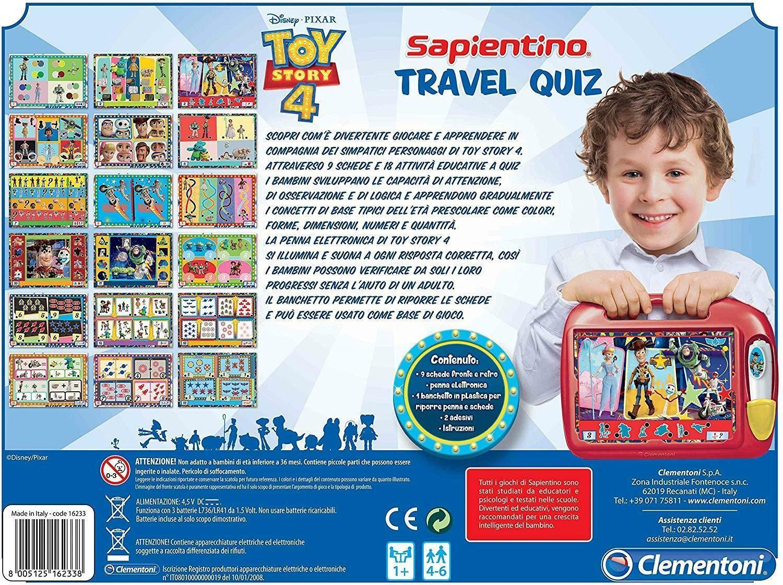 clementoni toy story 4 - travel quiz 16233