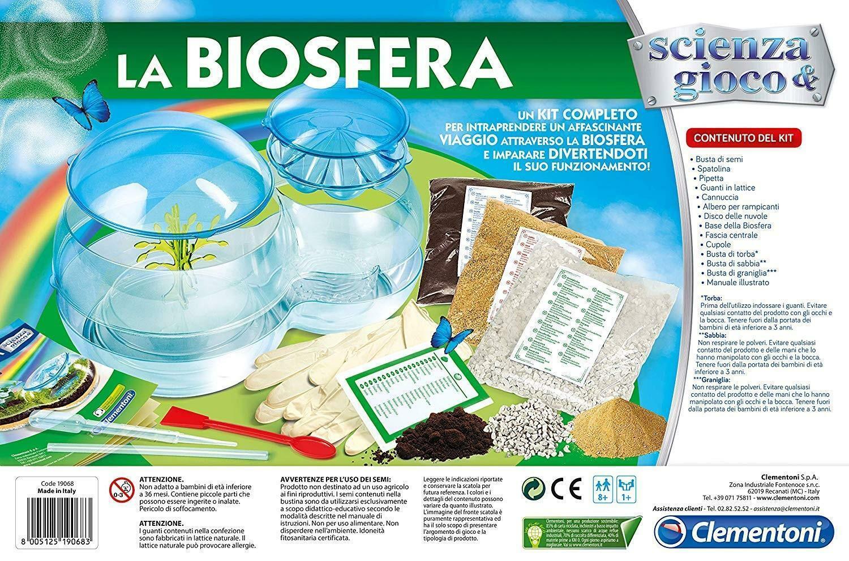 clementoni scienza & gioco - la biosfera 19068