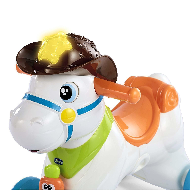 chicco chicco baby rodeo cavallo a dondolo