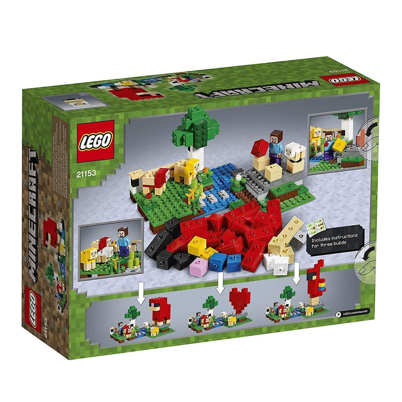 lego lego minecraft 21153 - la fattoria della lana