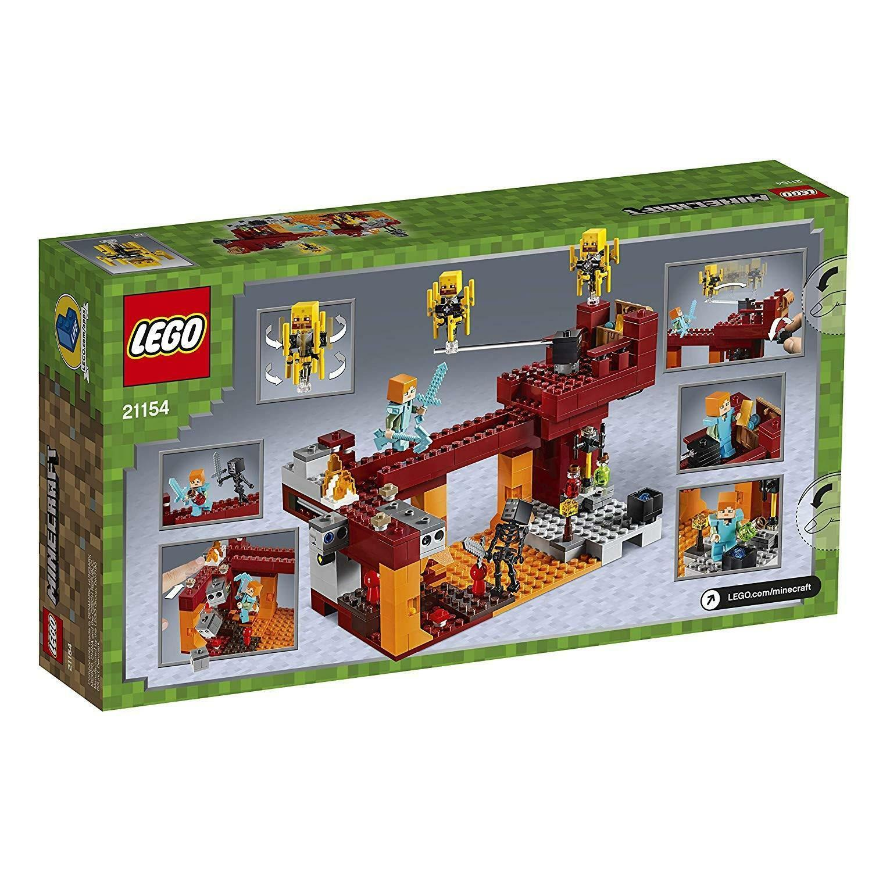 lego lego minecraft 21154 - il ponte del blaze