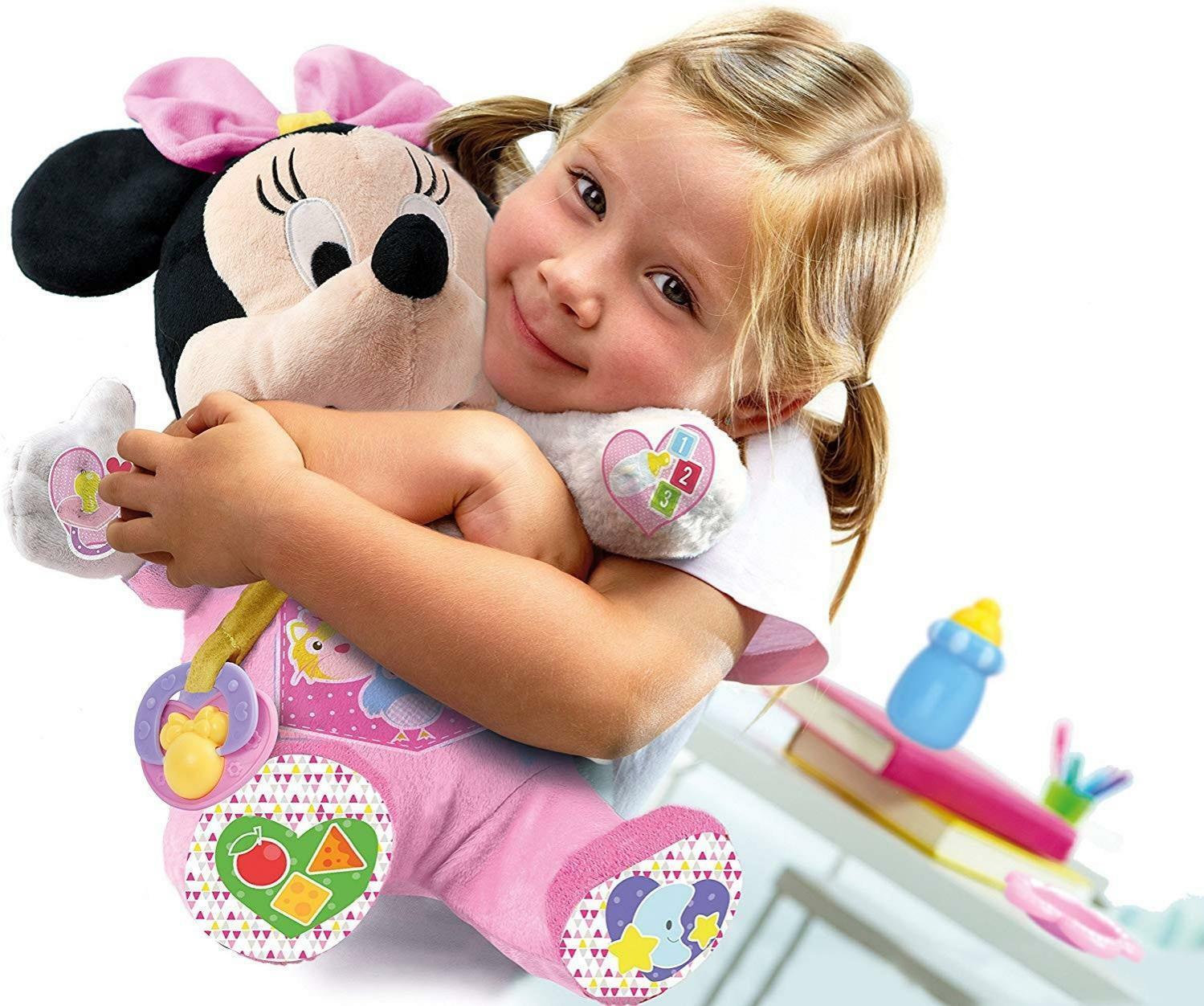 clementoni baby minnie la mia amica bambola 17145