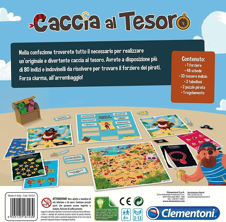 clementoni party games - caccia al tesoro 16153